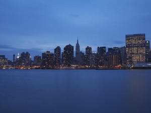Midtown Manhattan at Twilight