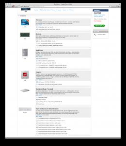 iMac configuration 2