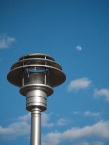 Saucer Lamp & Moon