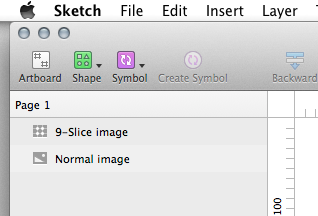 Sketch 9-Slice Icon