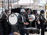 Brooklyn United Marching Band Percussion Section