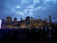 Lower Manhattan from Pier 1
