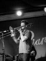 Trombonist Ryan Snow