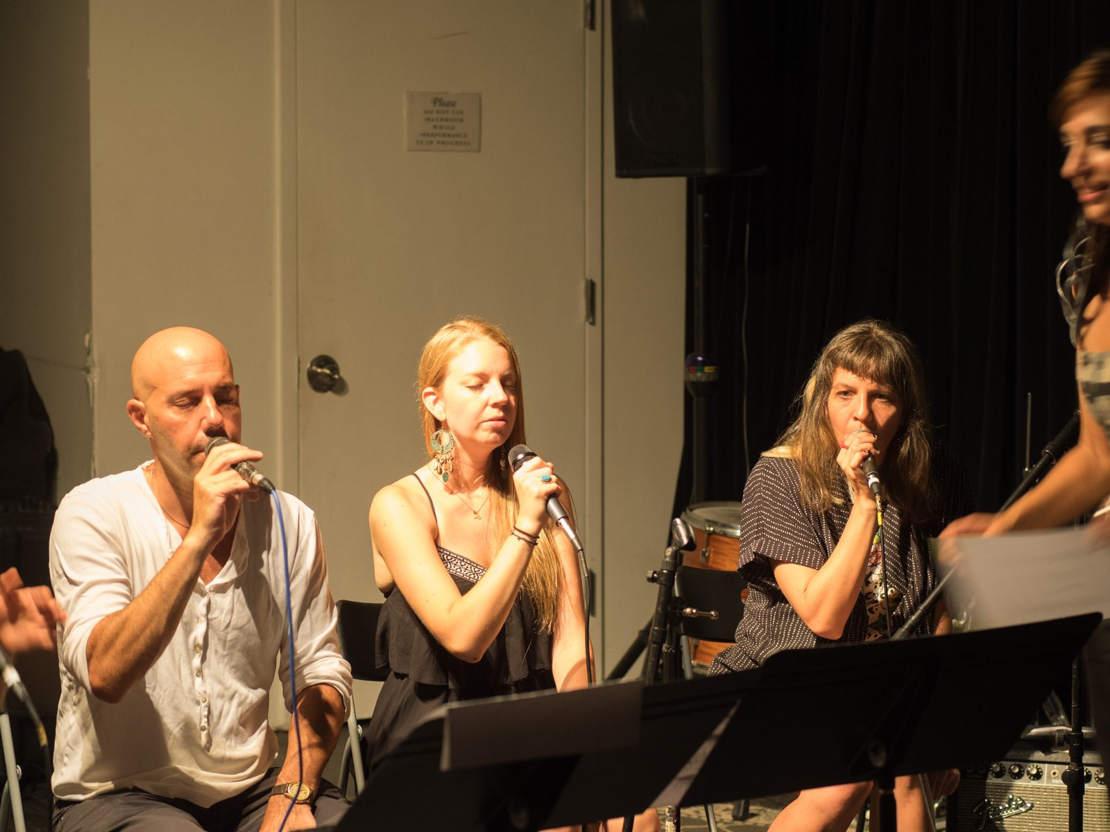 JD Walter, Aubrey Johnson, Monika Heidemann, and Sofia Rei