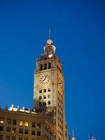 The Wrigley Building Clocktower