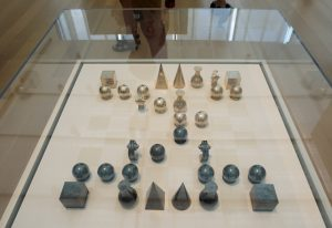 Chess Set (overhead)