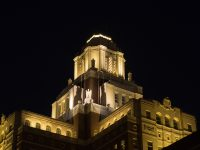 Custom House Illuminated