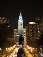Washington Faces Philadelphia City Hall