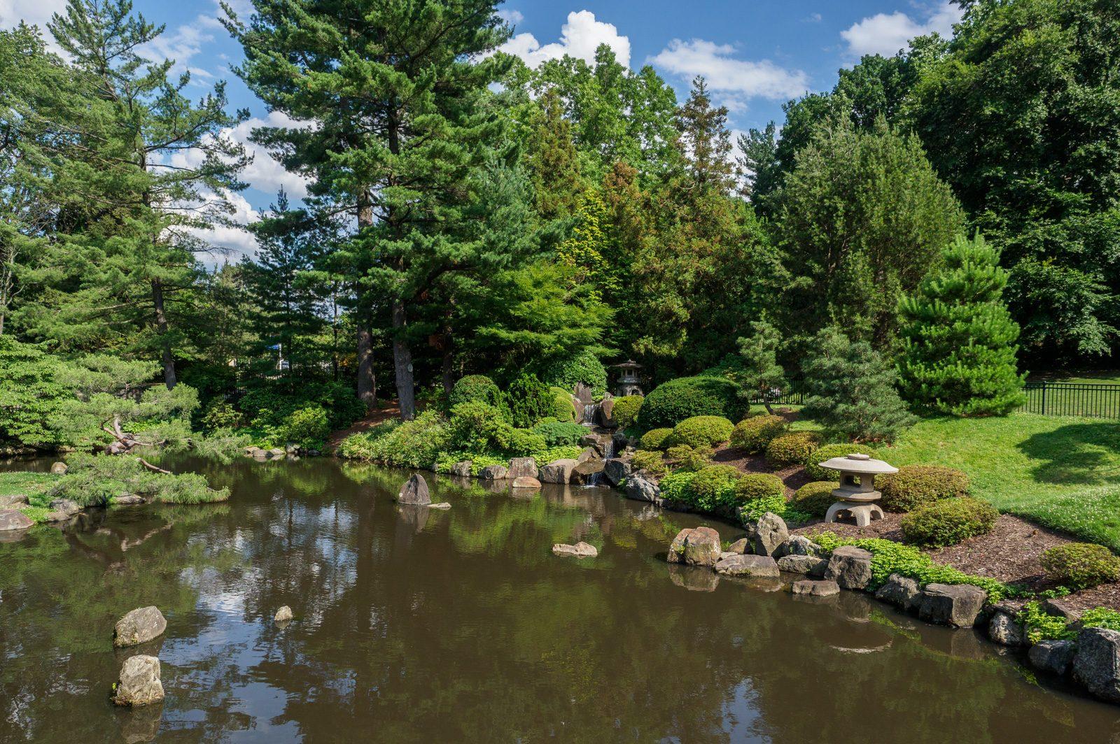 Shofuso Pond